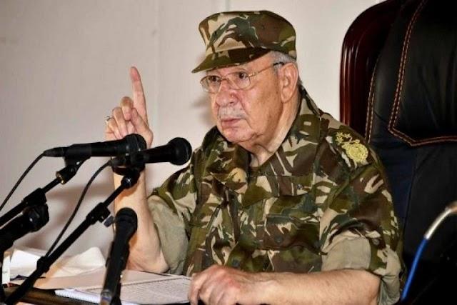 وفاة قائد أركان الجيش الجزائرى