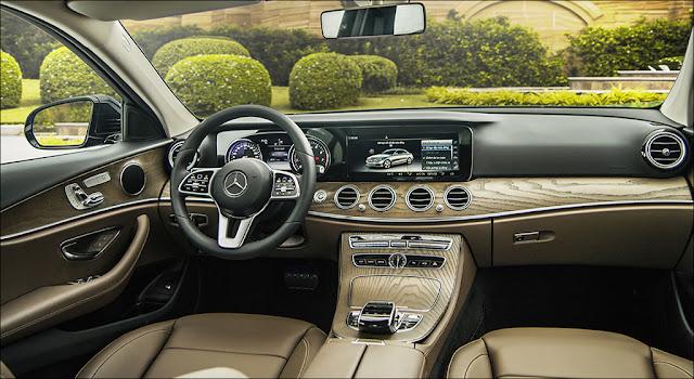 Nội thất Mercedes E200 2019 facelift được thiết kế vô cùng sang trọng và đẳng cấp