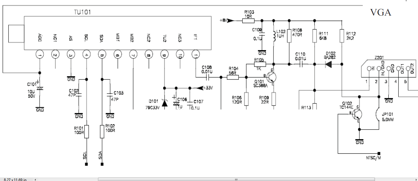 Electronic Technician Support How To Rf Section Work In Crt Tv And