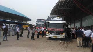 53 Bus Gratis Nataru 2019 Diberangkatkan Dari Terminal Pulo Gebang dan 5 Terminal Lainnya