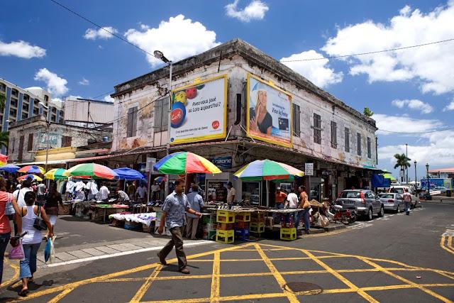 Mauritius Straßenszene in Port Louis, ©MTPA Bamba