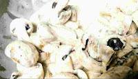 Batter coated mushrooms for chilli mushroom recipe