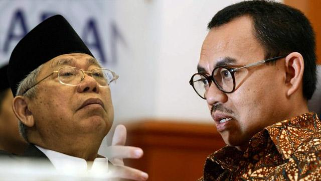Komentar soal 'Menculik', Sudirman Said Minta Ma'ruf Amin Jaga Tutur Kata sebagai Ulama