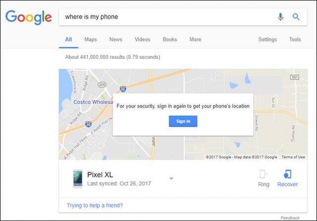 melacak hp android yang hilang dengan google map