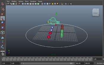 camera circle curve, Maya tutorials stuff