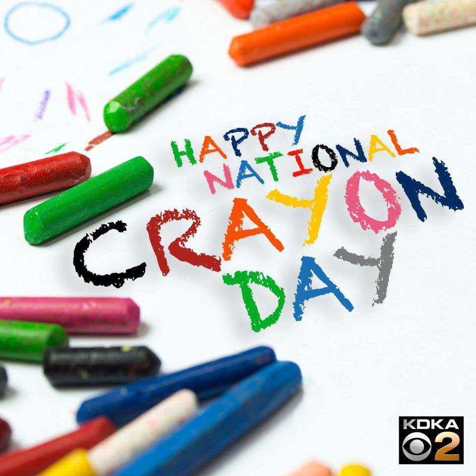 National Crayon Day Wishes