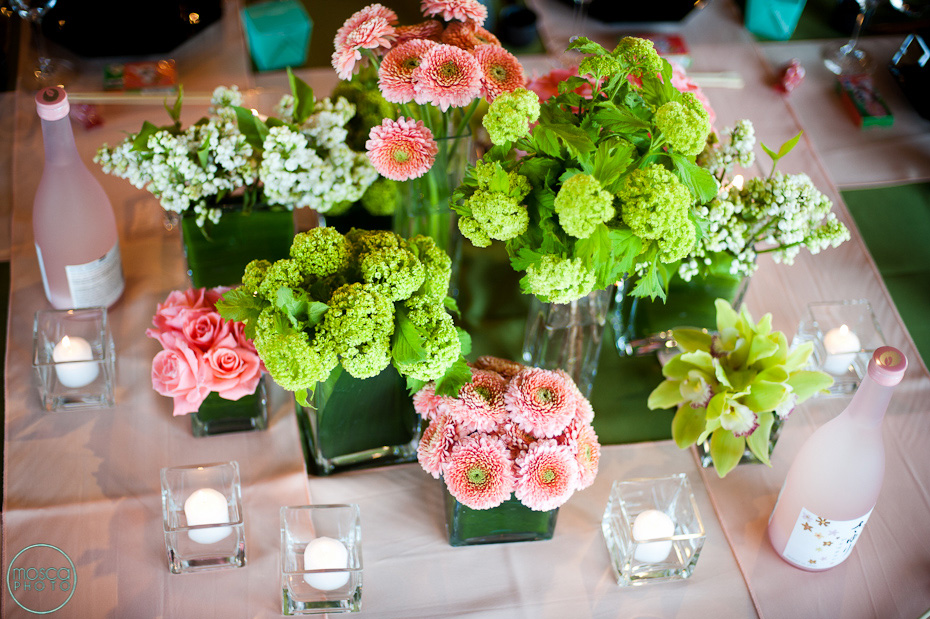 Moscaphotoweddinginspiration Greens Pinks Ivories