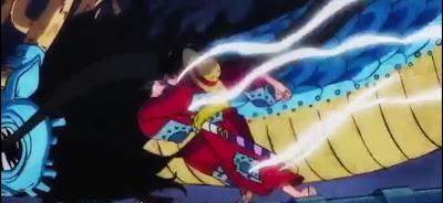 Spoiler Preview One Piece 914 : Pertarungan Luffy dan Kaido