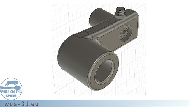 CAD Schwinge Laufrad