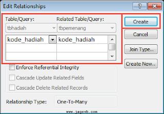 Cara Membuat Relasi Tabel Database Access