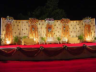 Wedding Indian Wedding Hall Decoration