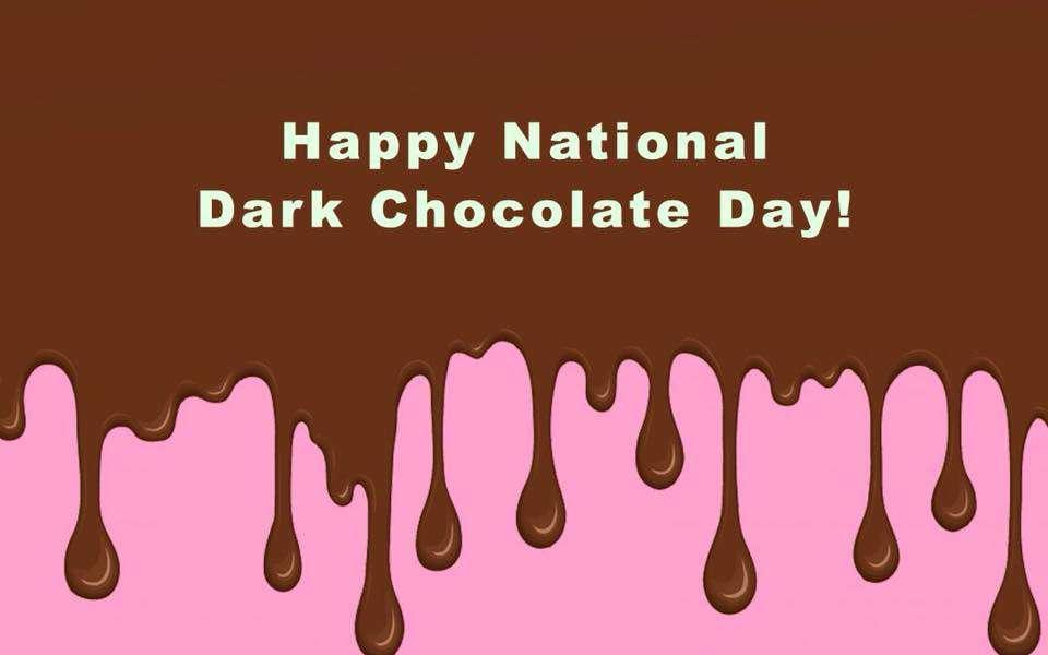 National Dark Chocolate Day Wishes Photos