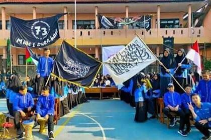 Siswa MAN 1 Sukabumi Kibarkan Bendera Tauhid, Menag Lukman Terjunkan Tim Investigasi