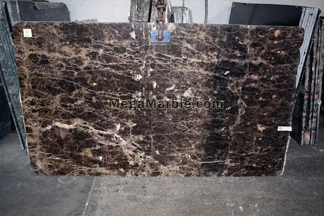 Emperador Dark marble slabs for countertops