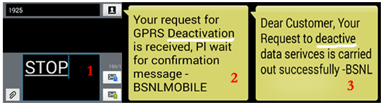 BSNL 3G Deactivation Prepaid