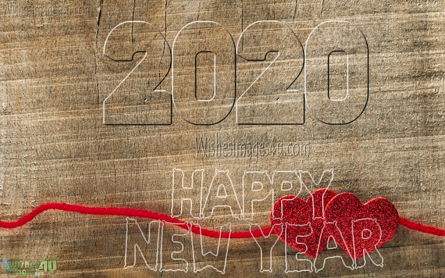 2020 Desktop background Romantic New year