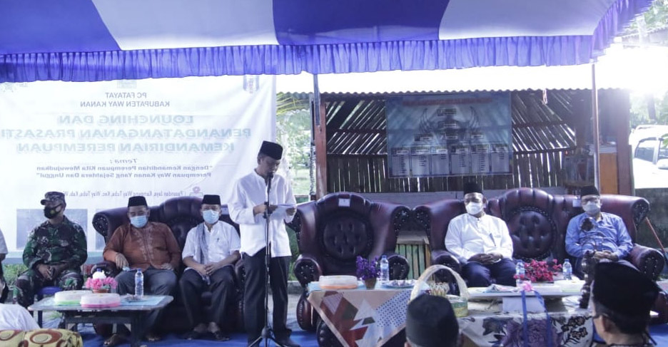 Resmikan Pusat Kerajinan, Wabup Waykanan Ajak Warga Bangkitkan UMKM