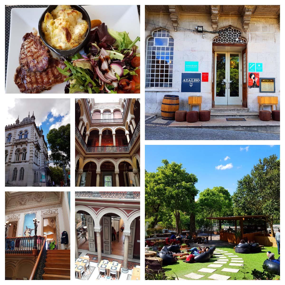Dicas de passeios a pé e de onde comer em Lisboa