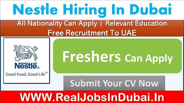 Nestle Dubai Careers Jobs Vacancies In UAE 2021