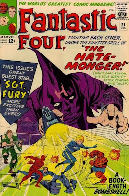Fantastic Four #21, the Hate-Monger