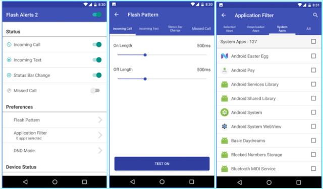 Cara Membuat Led Depan Jadi Notifikasi Android