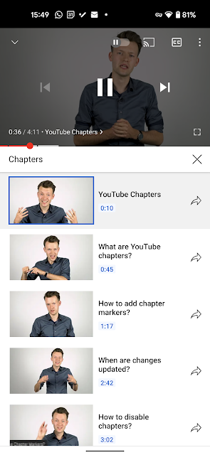 Les créateurs de contenu doivent ajouter ces marqueurs à leurs propres vidéos