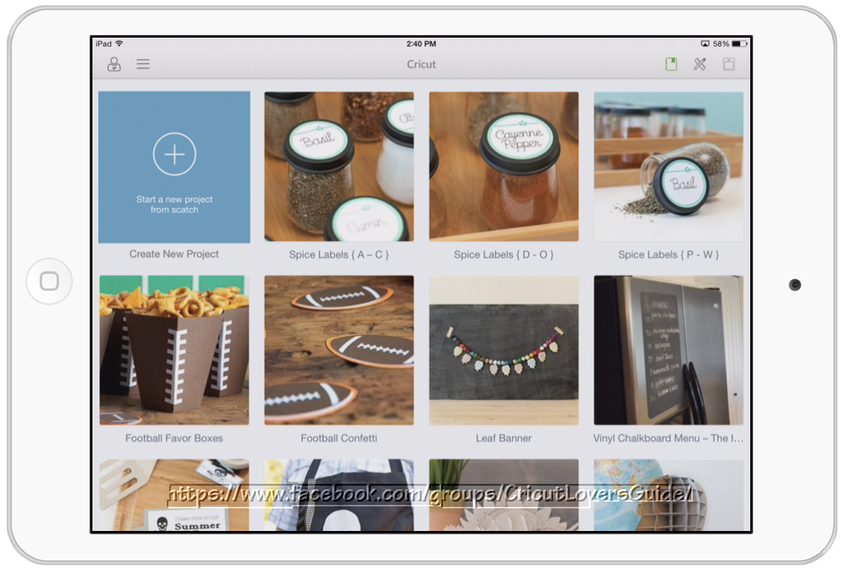 The Non-Crafty Crafter: CRICUT: Great news for iPad and Explore users