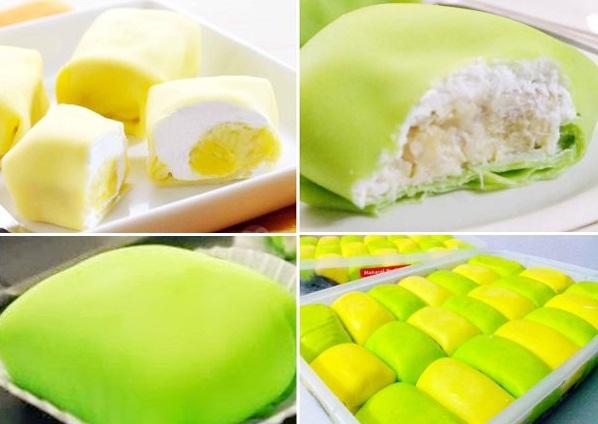 Resep dan Cara membuat Pancake Durian Spesial