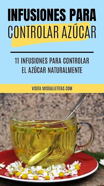 Controlar el azúcar naturalmente con infusiones