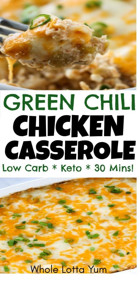 Easy Green Chili Casserole