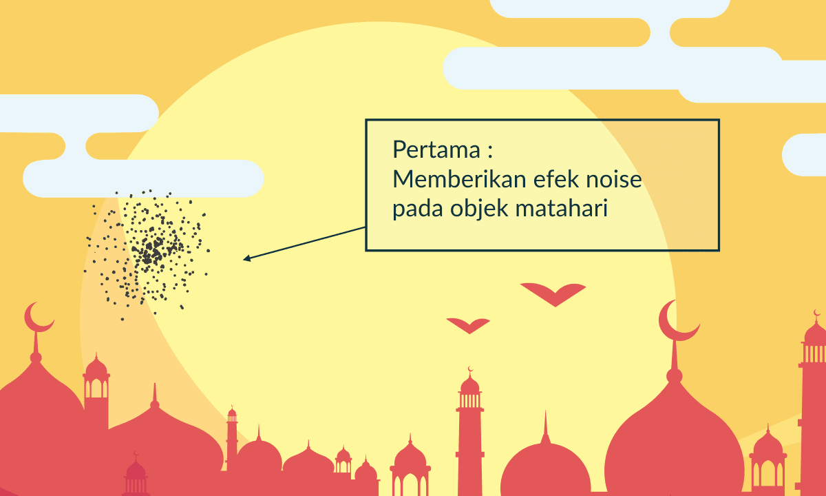 Efek Grain and Noise di CorelDRAW - Tutorial Duplikat Tekstur