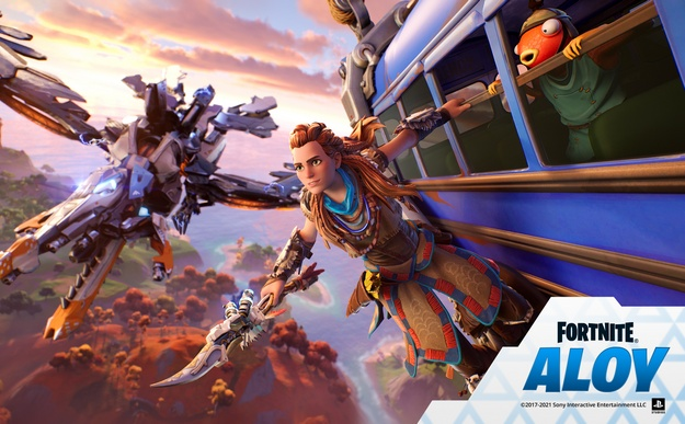 Aloy from Horizon will appear at Fortnite
