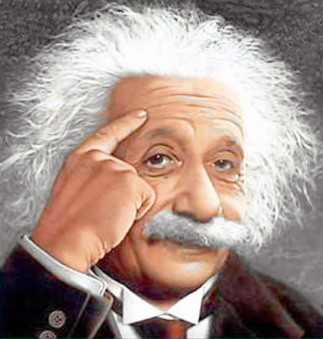 Mewarnai Gambar Albert Einstein