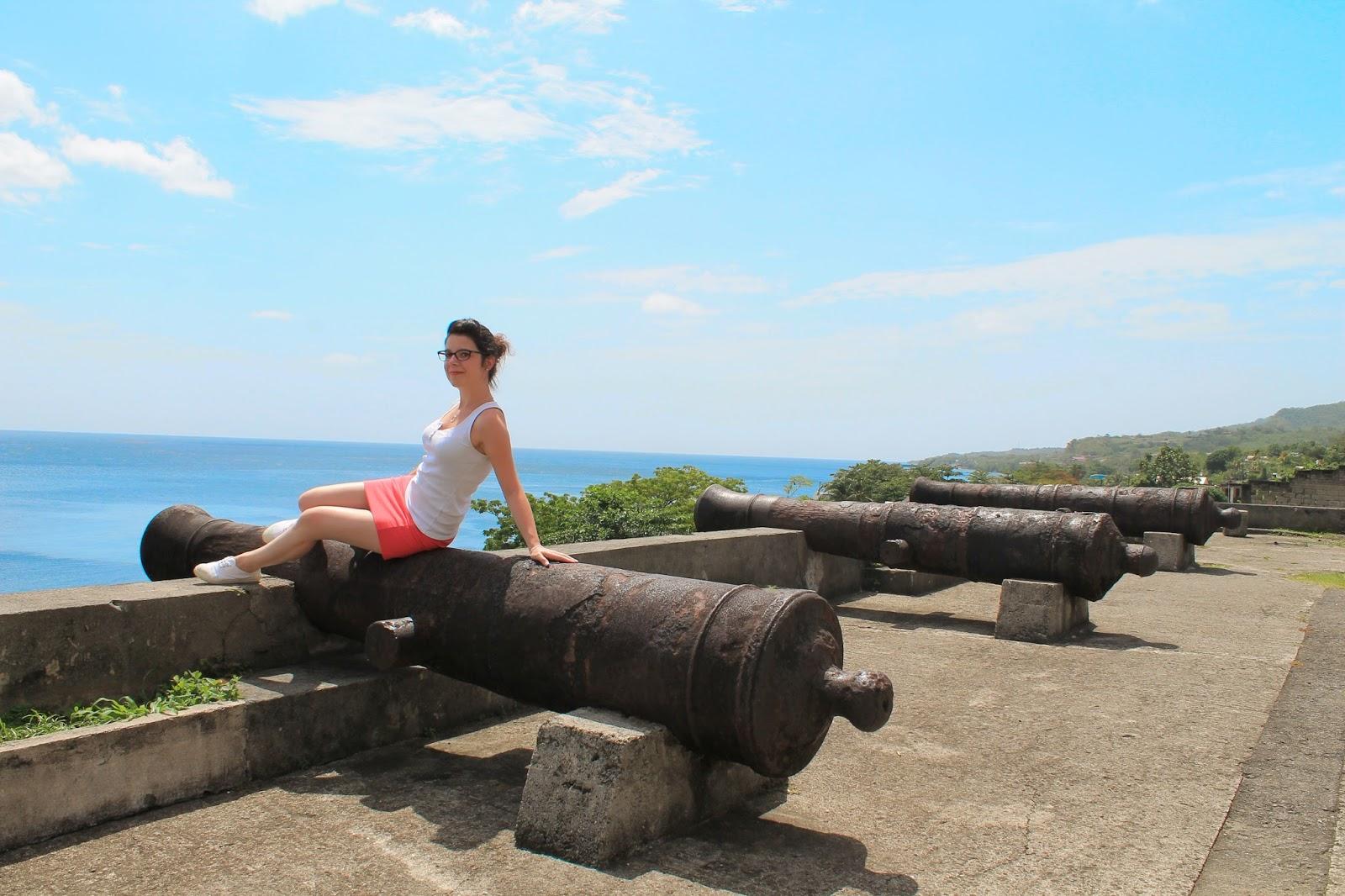 martinique caraibes vacances île dom tom visite saint-pierre vue canon