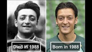 Ferrari is one of the world's leading automakers. Enzo Ferrari is the founder of Ferrari. He passed away in 1988. In 1988, another famous football player was born. His name is Mesut Özil. Football fans know that he is a talented footballer. Ferrari's Enzo Ferrari and football player Mesut Özil  look like twin brothers, and it's a coincidence that both were born and died in the same year.
