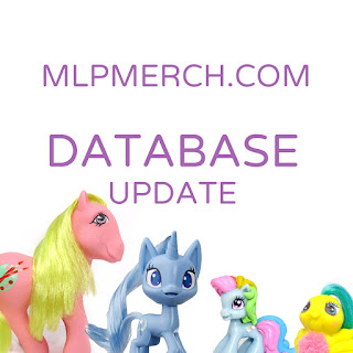 Big MLP Merch Database Update Now Available!