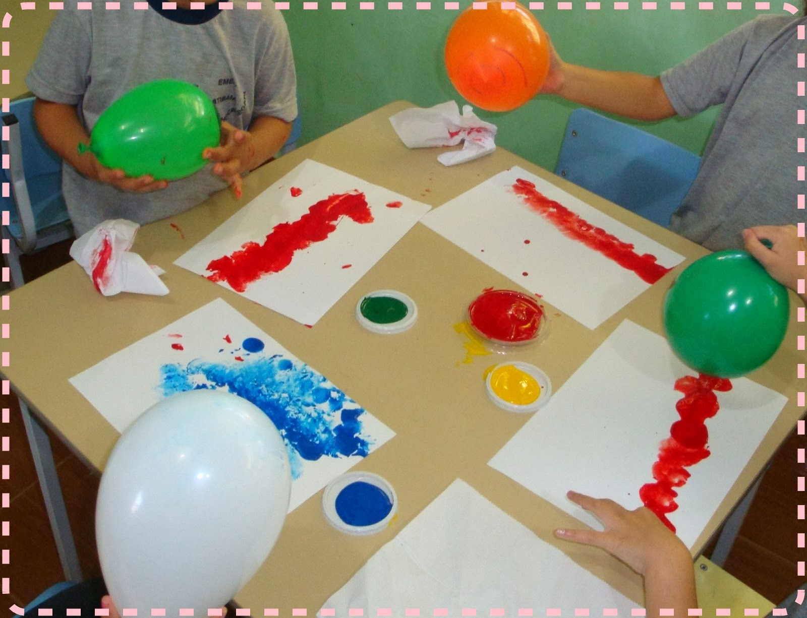 Amado Sensei Line-Chan: Técnicas de pintura para Educação Infantil HO22