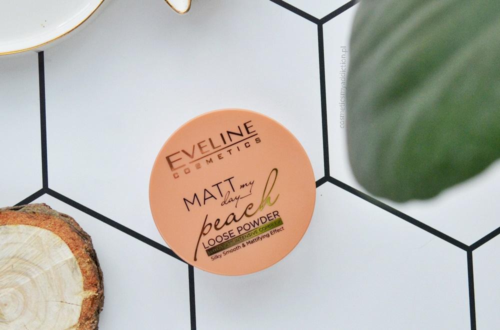 Eveline - matujący puder brzoskwiniowy / Peach Loose Powder, Matt my day