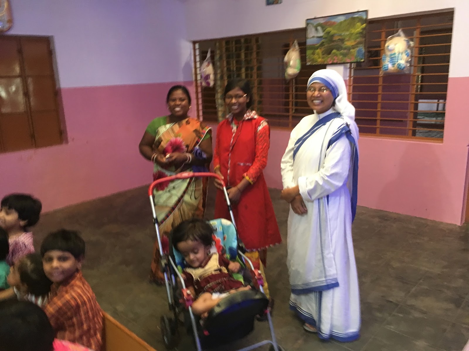 BROTHER MICHAEL CAPUCHIN INDIA: Mother Teresa Sishu Bhavan