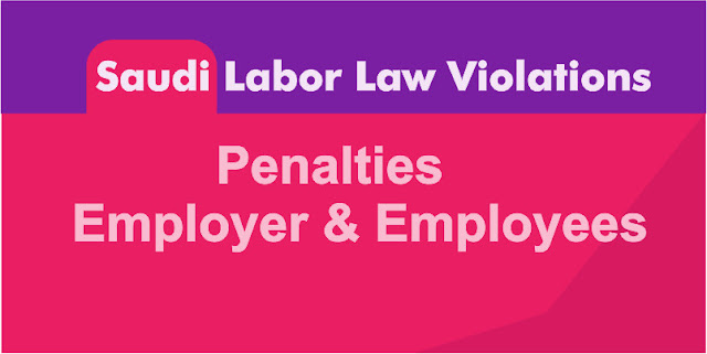 Saudi Labor Law Violations and  Employer Penalties