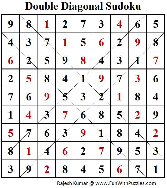 Argyle Sudoku (Daily Sudoku League #152)-Fun With Puzzles