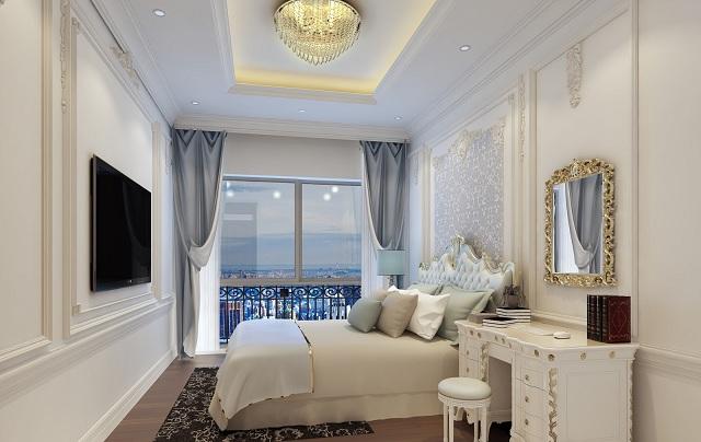 Phong cách thiết kế căn hộ 4 phòng ngủ cao cấp rất được ưa chuộng hiện nay - H3