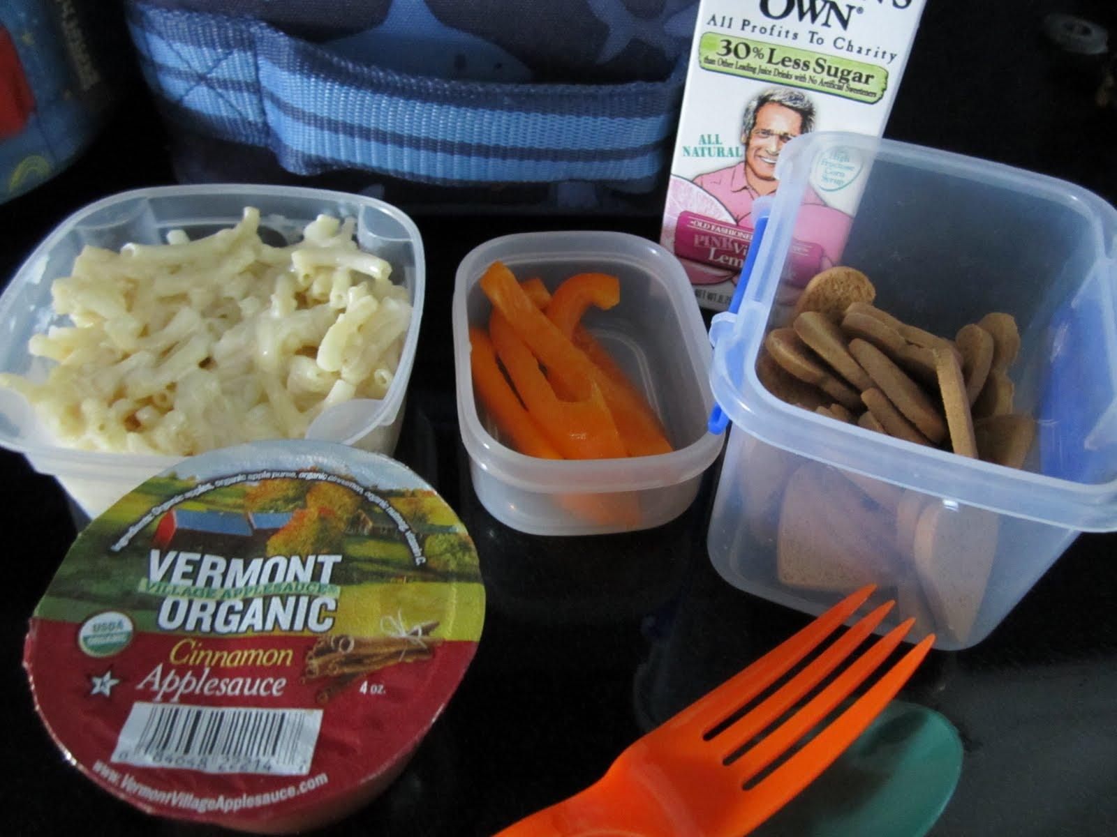 The Full Plate Blog: wednesday's lunchbox