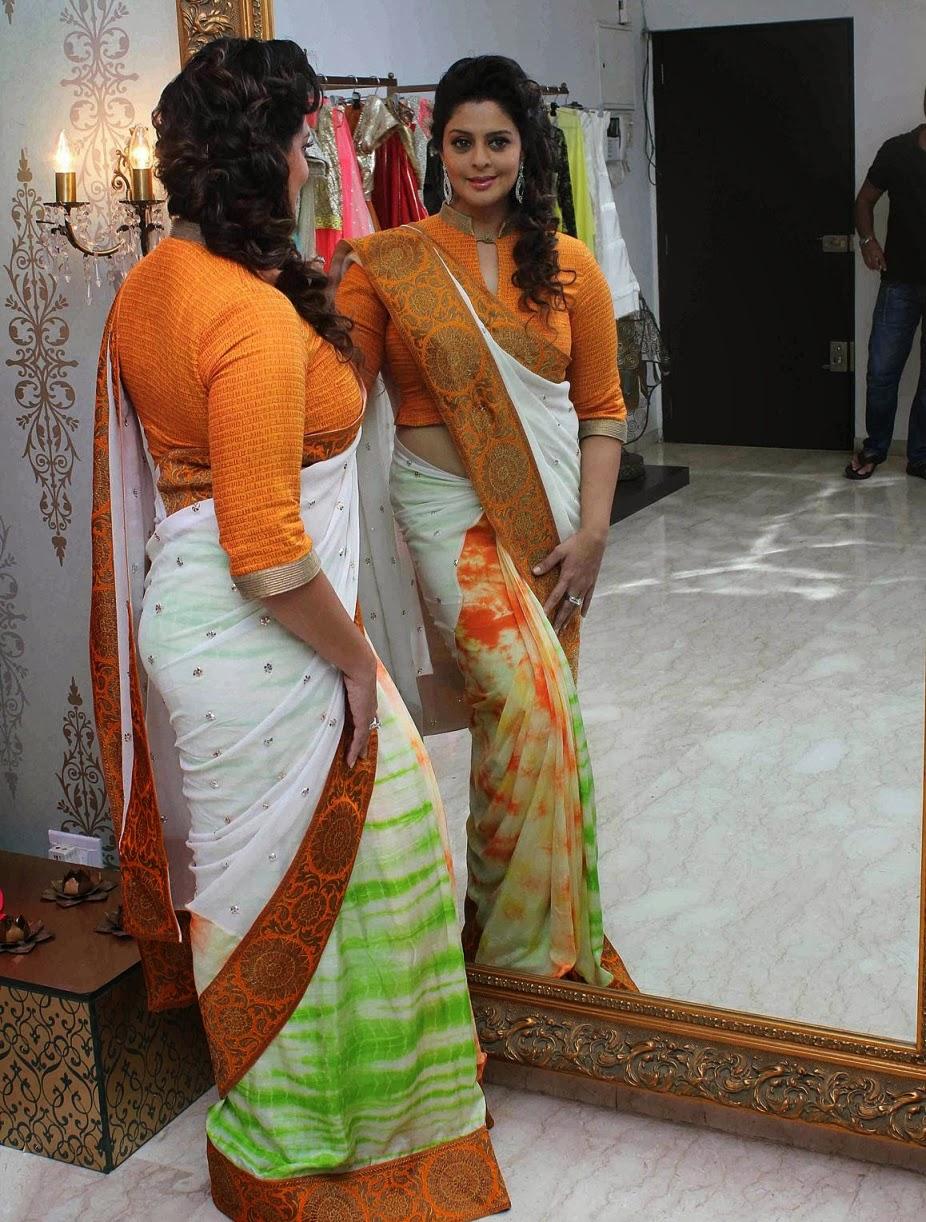 Nagma hot Saree Stills ~ High Resolution Pictures
