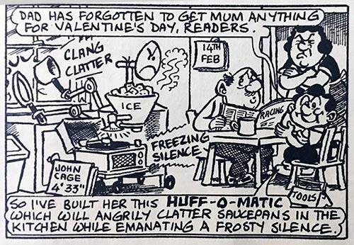 John Cage joke in Viz