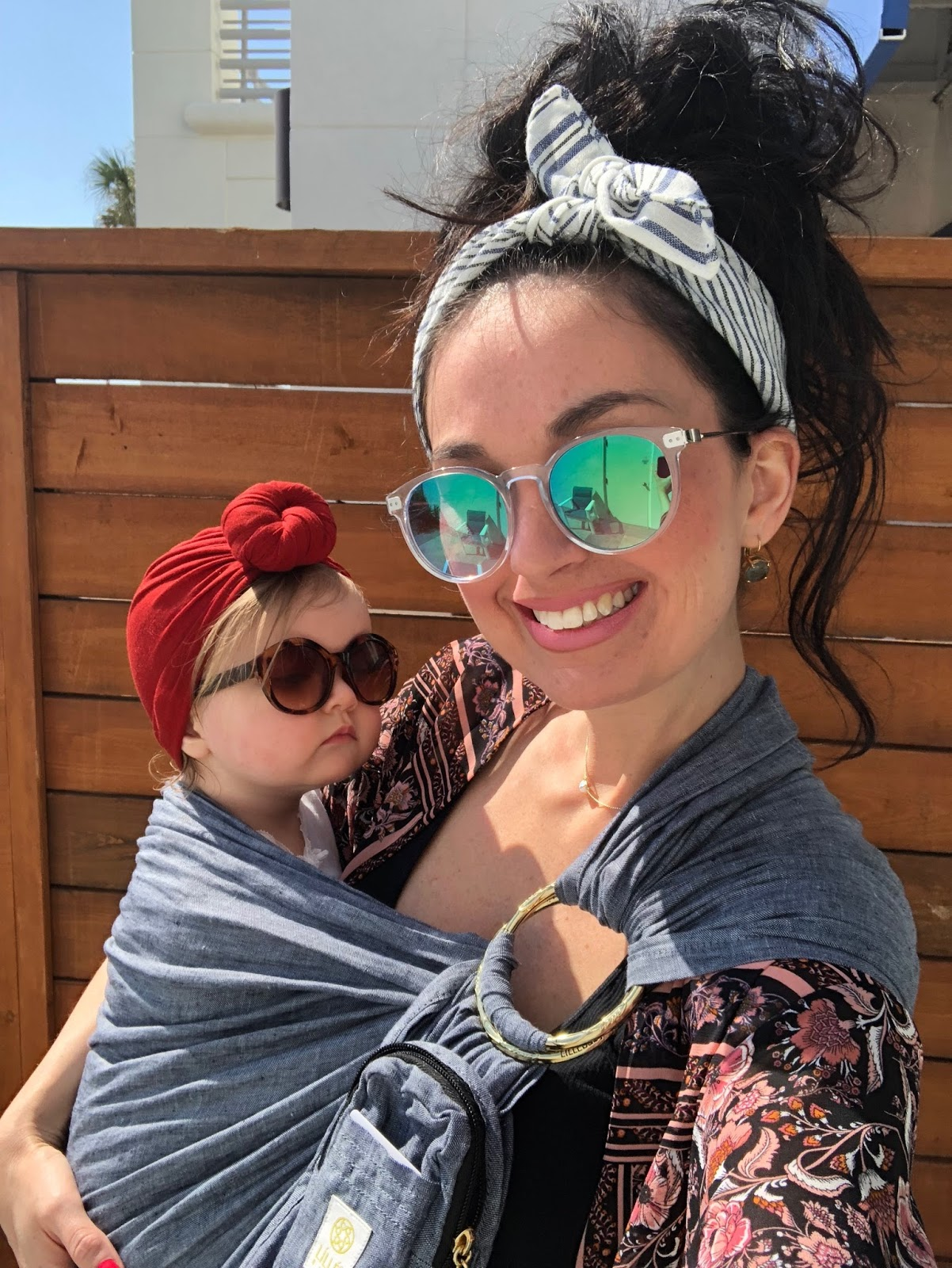 Summer Fun with Head Wraps, Dry Shampoo, & Sunglasses