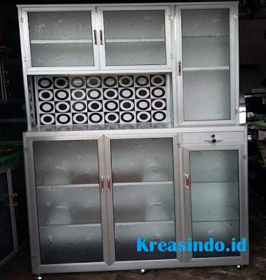 10+ Model Rak Piring Aluminium Minimalis dan Modern Terbaru Persembahan Kreasindoco