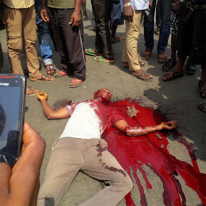 IPOB-Trump rally continues as Nigerian Army shoots 7 Biafrans dead (Graphic)