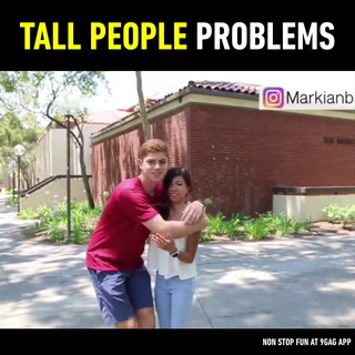 Tag a tall friend who has faced all these struggles