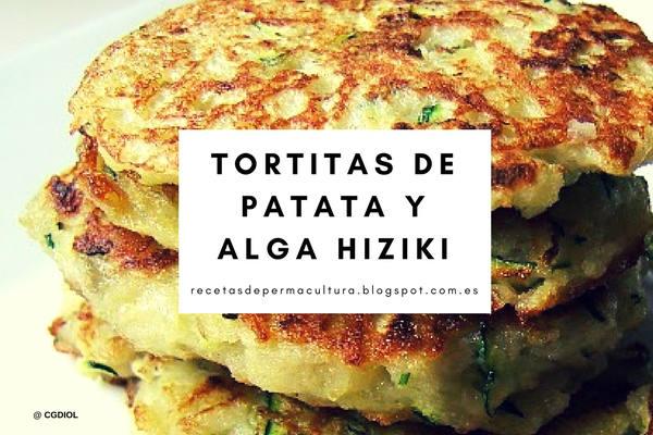 Receta de Tortitas de Patata y Alga Hiziki